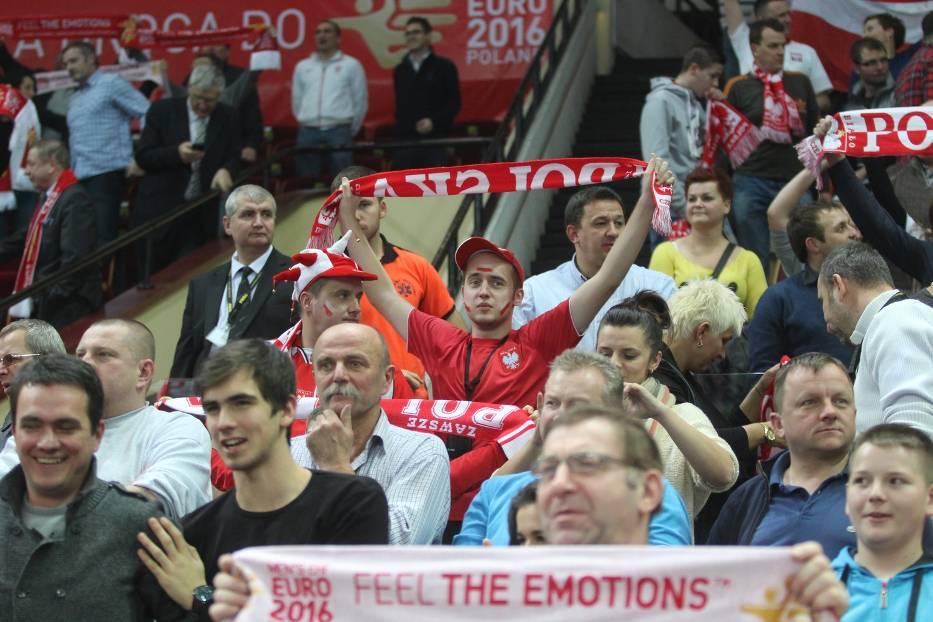 Chrismas Cup w Spodku: Polska - Węgry [ZDJĘCIA KIBICÓW]