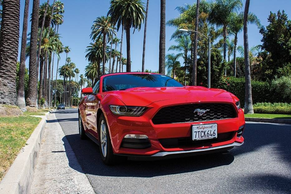 Ford Mustang - 2/5 gwiazdek w 2017 roku