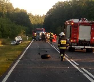 Śmiertelny wypadek w Przyłęku. Zarzut zabójstwa dla pijanego kierowcy Renaulta! [NOWE ZDJĘCIA]