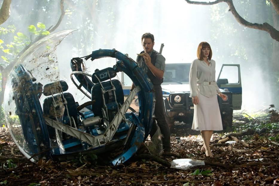 "Kadr z filmu ""Jurassic World"""
