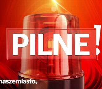 Alarm bombowy w ZSZiL im. dra Kazimierza Hołogi w Nowym Tomyślu [FOTO]