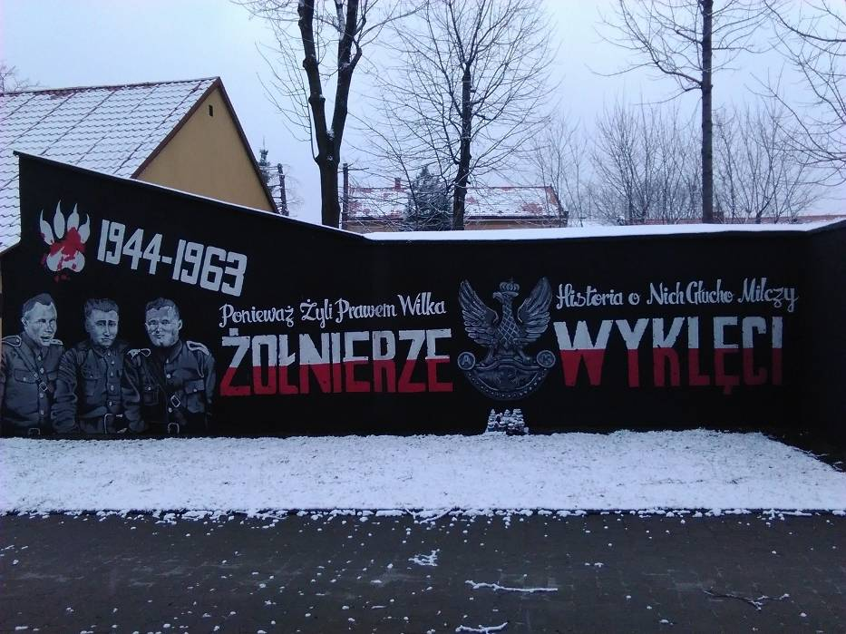 Mural w Andrychowie