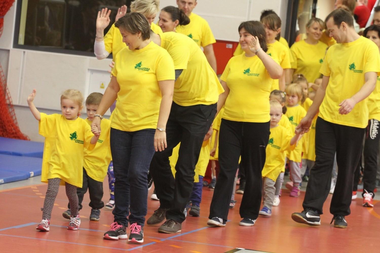 IV Sportowa Olimpiada Przedszkolaka w Złotowie