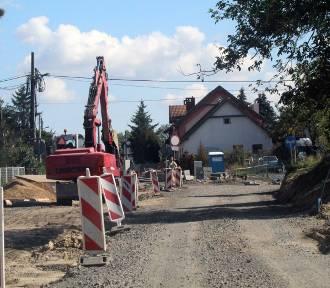 Remont ulicy Szczytnickiej w Legnicy, drugi etap