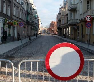 Grudziądz. Tutaj trwają remonty ulic, tworzą się korki. Zobacz zdjęcia z Google Street View