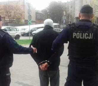 Policja w Łodzi zatrzymała pseudokibiców [ZDJĘCIA FILM]