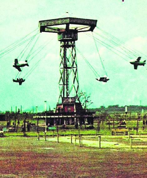 Wesołe Miasteczko w Wojewódzkim Parku Kultury i Wypoczynku w ChorzowieRuszyło 12 września 1959 r