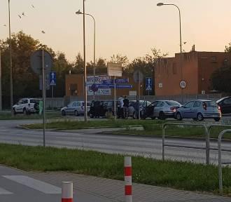Kolizja pięciu aut na radomskim Michałowie