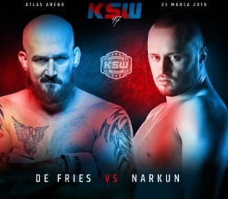 Tomasz Narkun będzie walczył o pas wagi ciężkiej na KSW 47!