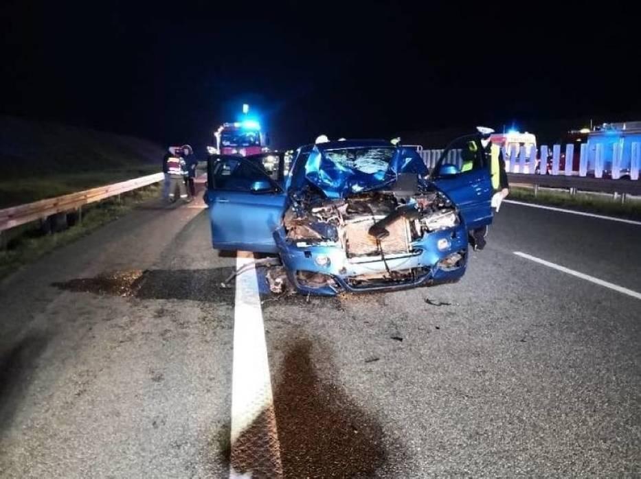 Do tragicznego wypadku doszło na autostradzie A1 w czwartek, 30