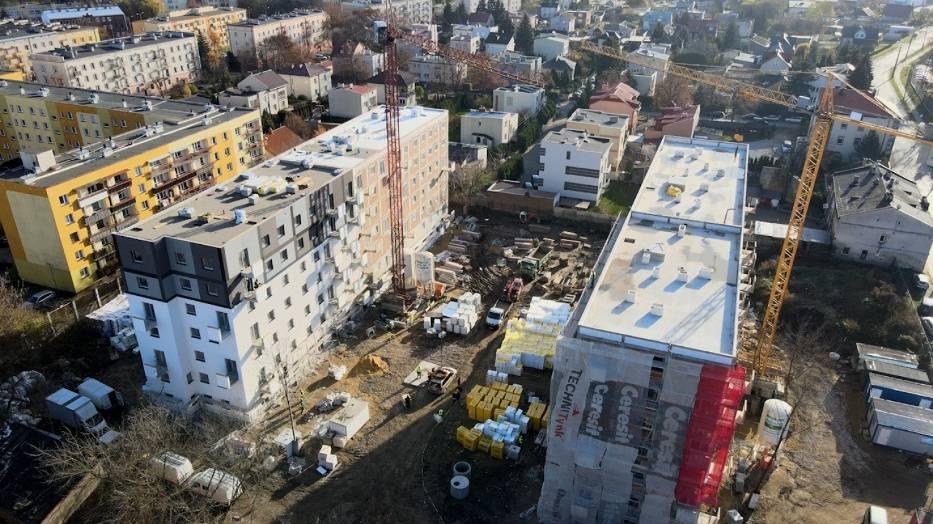 Mieszkanie Plus w Radomiu. Trwa budowa nowych bloków. Zobaczcie zdjęcia!
