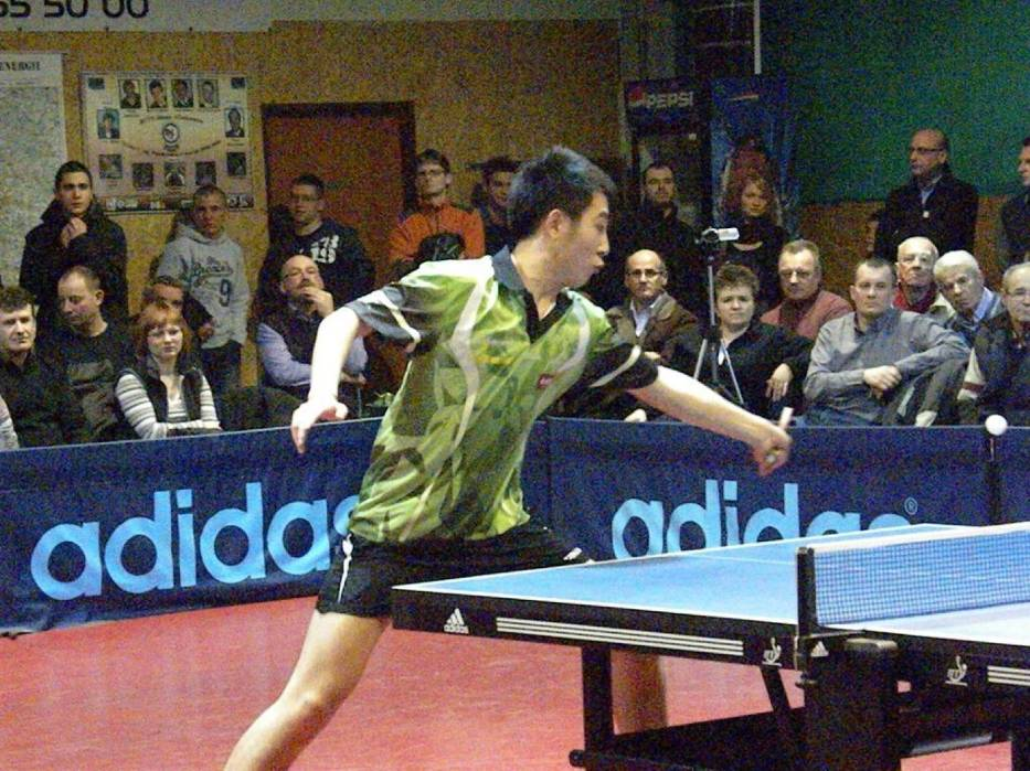 Lei Yi przegrał z Bartoszem Suchem 0:3