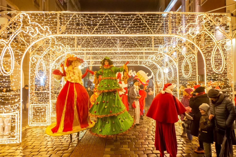 Tak wyglądała Wielka Świąteczna Parada w Poznaniu w 2018 roku