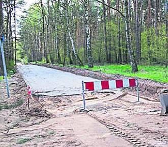 Margonin: Nowa droga jest w budowie