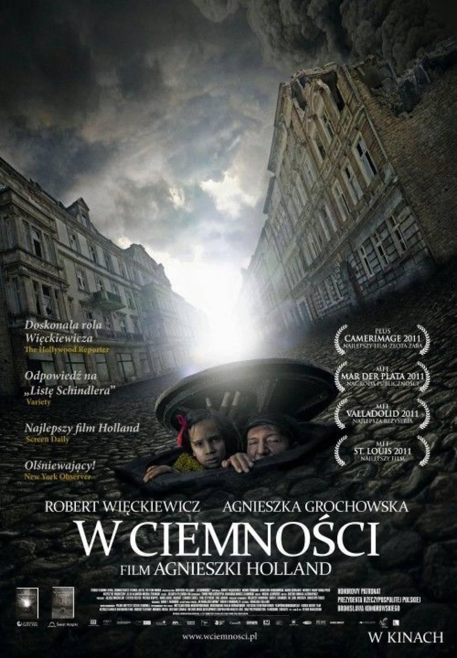"""""""W ciemności"""" Agnieszki Holland jest polskim kandydatem do Oscara 2012"""
