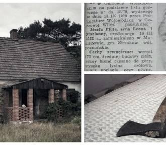 """Tak dziś wygląda wielkopolski """"dom zły"""", gdzie Józef Pluta zamordował cztery osoby"""