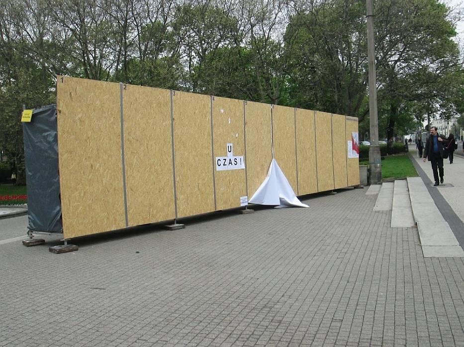 Plakaty wyborcze w Poznaniu