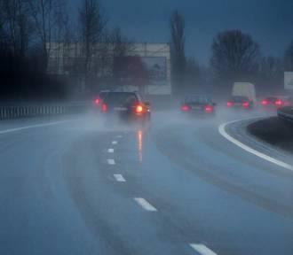 Uwaga! Na drogach może wystąpić marznący deszcz