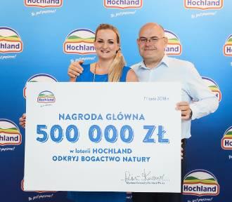 Loteria Hochland zakończona. Pół miliona złotych przekazane zwycięzcy!
