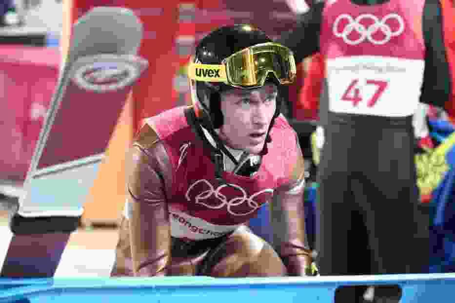 Stefan Hula jest liderem konkursu olimpijskiego po pierwszej serii