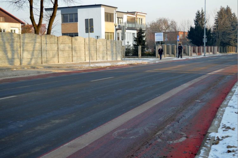 Ulica Młynarska w Kaliszu zmodernizowana