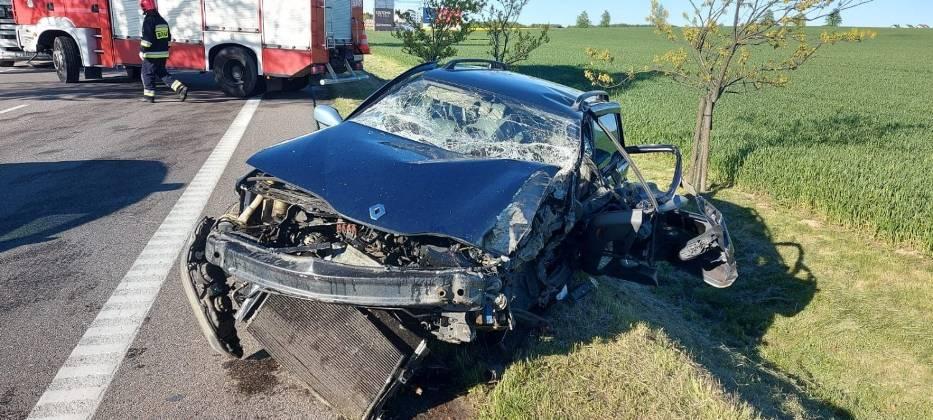 Wypadek w Widlinie (gmina Puck) - 21 maja 2020