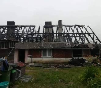 Pożar domu w Radojewicach pod Inowrocławiem. Jedna osoba nie żyje!