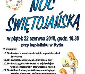 Gmina Czersk. Noc Świętojańska w Rytlu - zobacz program imprezy
