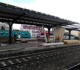 Kolejny peron w Grudziądzu będzie wyglądał jak nowy