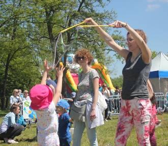 Bubble Day na głogowskiej marinie - zabawa nie tylko dla dzieci