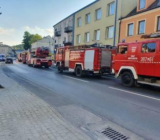 Szczebrzeszyn: tragiczny pożar mieszkania w bloku