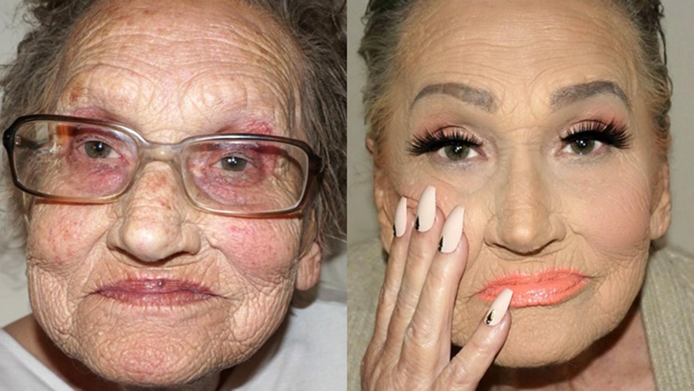 Dobrze wykonany makijaż potrafi zdziałać prawdziwe cuda: nie tylko wymodelować twarz, ale nawet odmłodzić o kilka dekad