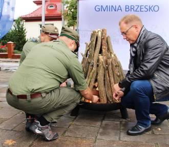 Inauguracja Roku Harcerskiego ZHP Chorągwi Krakowskiej w Brzesku