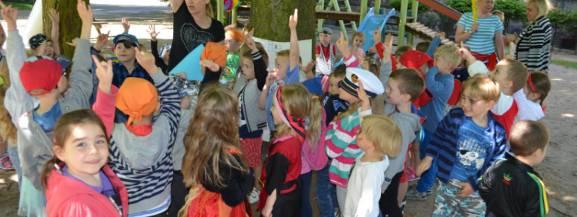 Piracki Dzień Dziecka w przedszkolu nr 6 w Świebodzinie