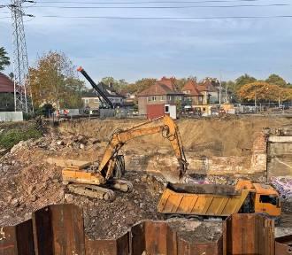 Węzeł Łękno w Szczecinie. Sprawdzamy, co dzieje się na placu budowy