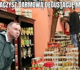 Musztarda wyborcza Andrzeja Dudy ostra jak cień mgły MEMY
