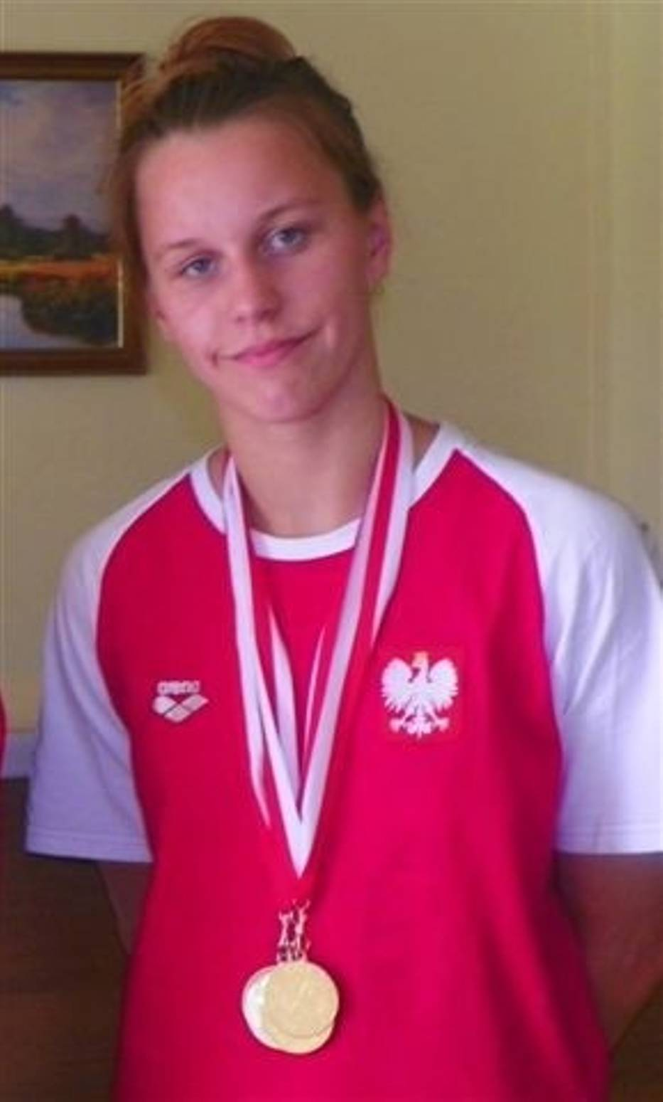 Zuzanna Chwadeczko (MTP Lublinianka) nie miała sobie równych w Szczecinie na trzech dystansach