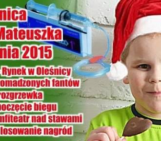 Mikołajkowy Bieg dla Mateuszka Frączyka z Oleśnicy