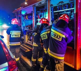 Pożary kotłowni w Junoszynie i pustostanu we Władysławowie