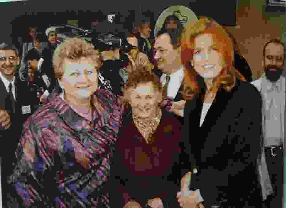 Księżna Sarah, czyli Fergie w Wolborzu w 1997 roku