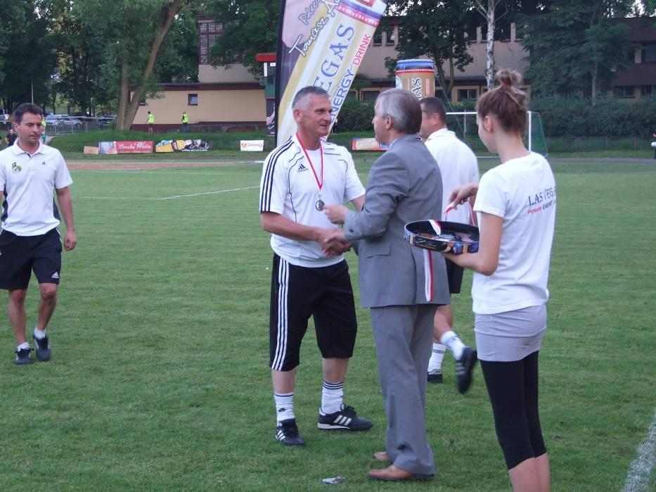 Sylwester Szkudlarek (od lewej) trenerem GKS Bełchatów