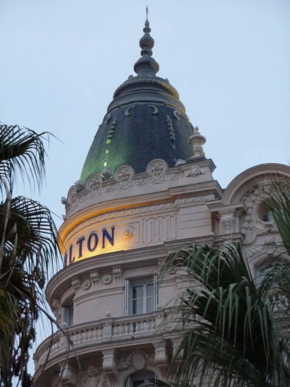 Hotel Carlton w Cannes, gdzie doszło do kradzieży