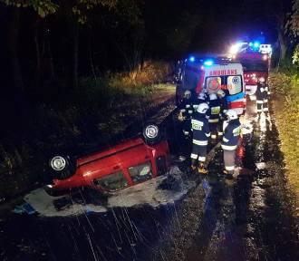 Wypadek na trasie Zduny-Baszków