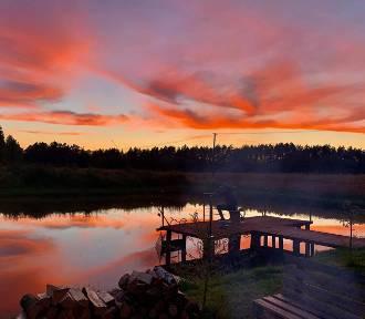 Cudowne zachody słońca nad Kwidzynem i okolicą! Zobaczcie zdjęcia Czytelników