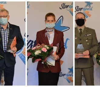 Społecznicy Jerzy Bochenek, Martyna Straszewska, Wojskowy Klub Honorowych Dawców Krwi