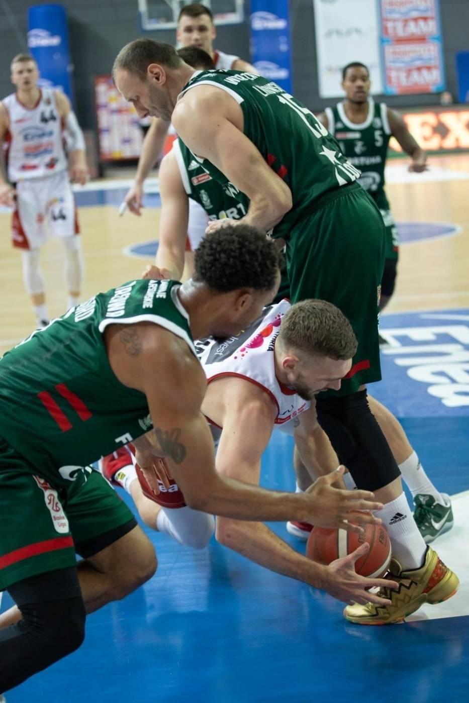 Enea Astoria Bydgoszcz - Legia Warszawa Koszykówka