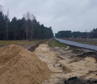 Ruszyła budowa ścieżki rowerowej Karpicko – Barłożnia Wolsztyńska