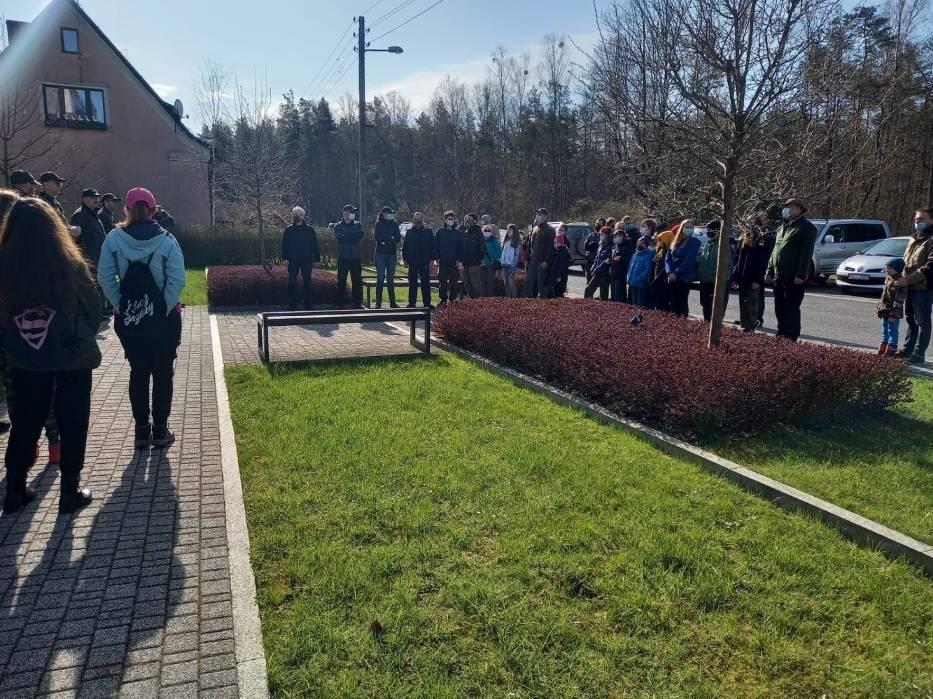 Posadzili ponad 2 tysiące drzewek w Lublińcu