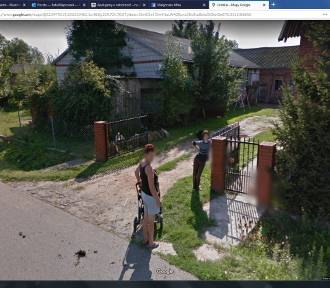 Mieszkańcy gminy Bielawy na Google Street View. Kogo złapała kamera? [ZDJĘCIA]