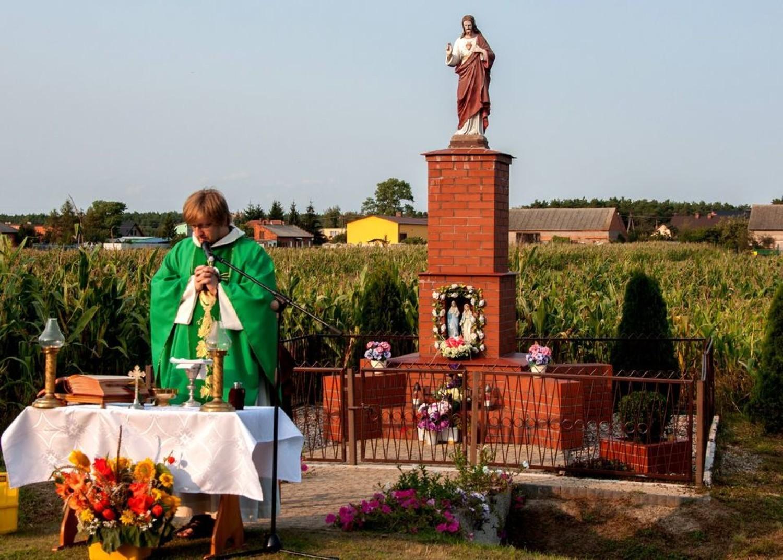 Msza św. dziękczynna w Kwileniu